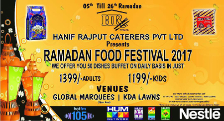 Hardees karachi ramadan deals 2018