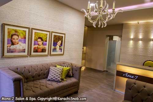 Day spas in karachi at for Mona j salon karachi