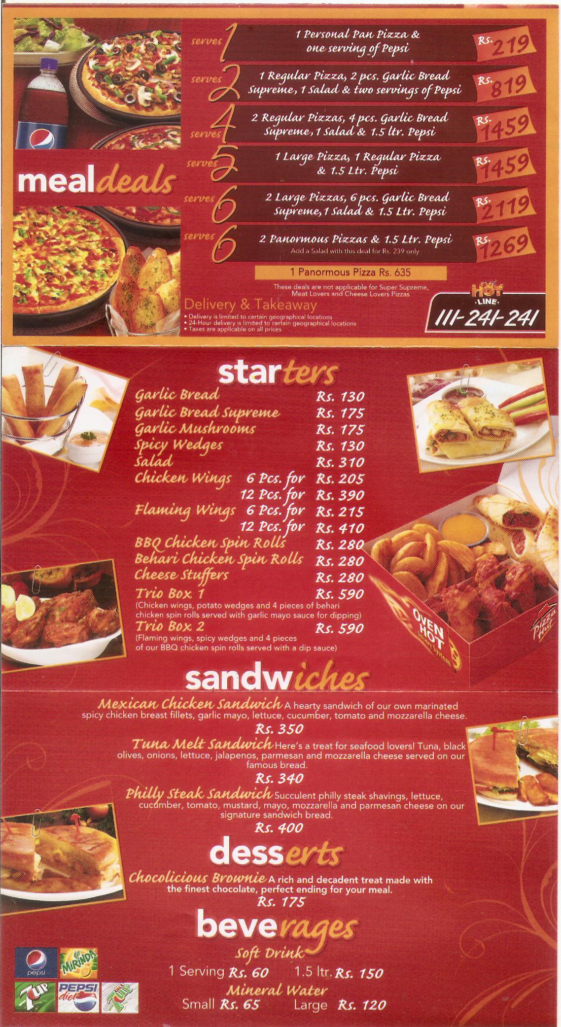 Pizza hut ramadan deals in karachi 2018